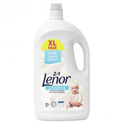 LENOR Sensitive tekutý prací prostriedok 67pd