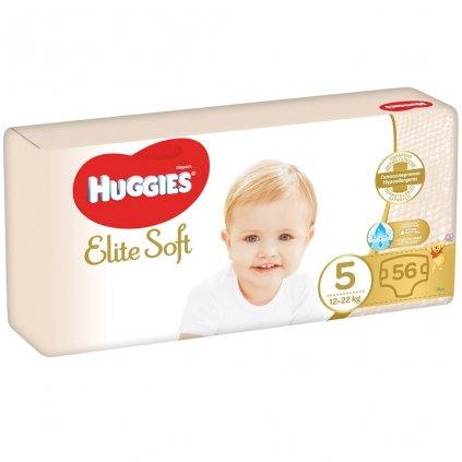 HUGGIES Jednorázové plienky Elite Soft veľ. 5, 56 ks