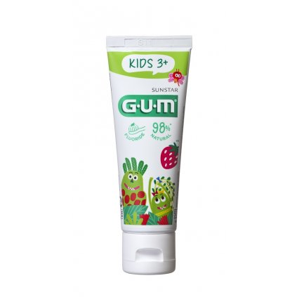 GUM Kids zubný gél pre predškolákov Monsters (2-6 rokov), 50 ml