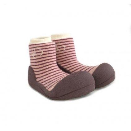 ATTIPAS Detské topánočky Forest Pink M