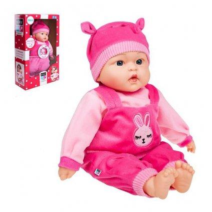 Maďarsky hovoriaca a spievajúca detská bábika PlayTo Lili 46 cm