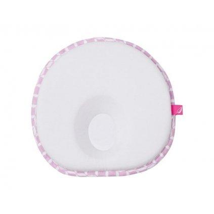 MOTHERHOOD Vankúšik ergonomický stabilizačný pre novorodencov Pink Classics 0-6m