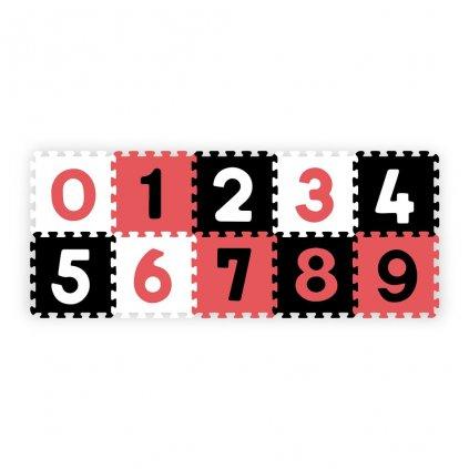 Penove puzzle 30x30 cm 10 ks Baby Ono cisla
