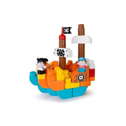 CHICCO Stavebnica App Toys 60ks - Ostrov pokladov