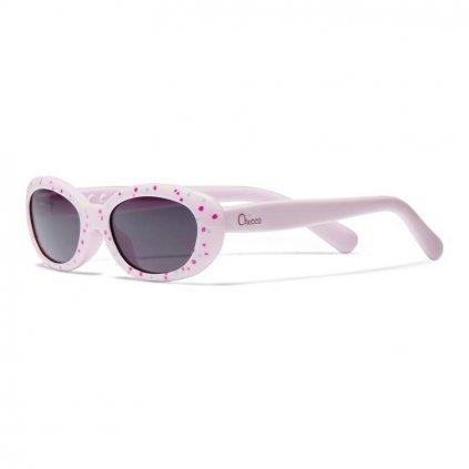 CHICCO Okuliare slnečné dievča ružové 0m+