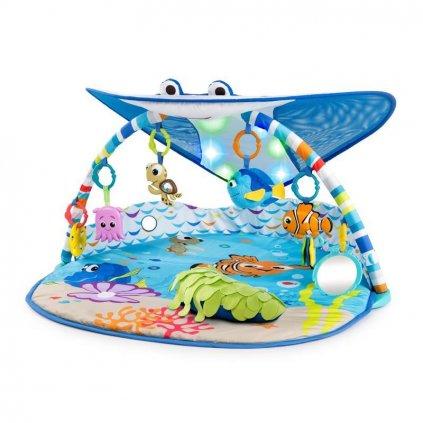 DISNEY BABY Deka na hranie svetelná Hľadá sa Nemo - Pán Rajka 0m+ 2019