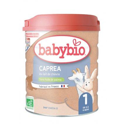 BABYBIO caprea 1 plnotučné kozie dojčenské bio mlieko (800 g)