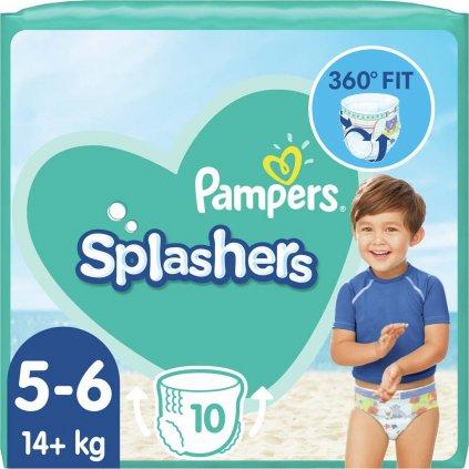 PAMPERS Plienky do vody Splashers 14kg+ 10ks
