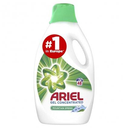 ARIEL Gél na pranie Mountain Spring 2,64 l - 48 praní