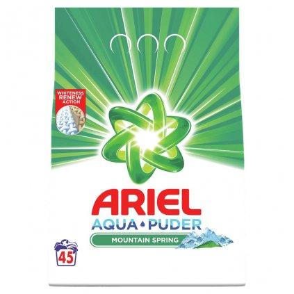 ARIEL Prášok na pranie Mountain Spring 3,6 kg - 48 praní