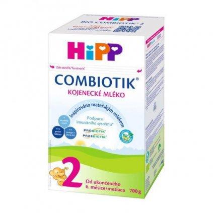 HiPP Mlieko dojčenské 2 pokračovacie BIO Combiotik 700g
