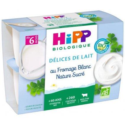 HiPP Dezert BIO mliečny tvarohový 4x100g