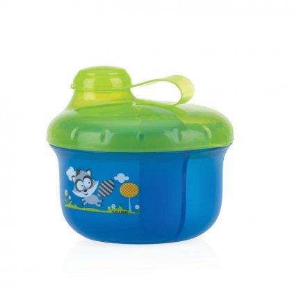NUBY Dávkovač na mlieko 270 ml modrý