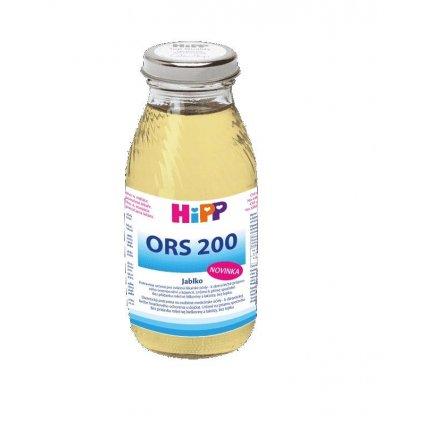 HiPP Výživa rehydratačná ORS 200 jablko 200ml