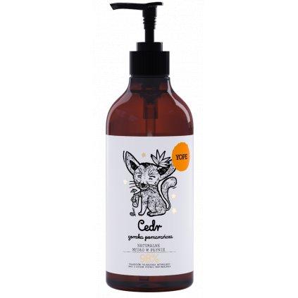 YOPE Ceder and Bitter Orange mydlo na ruky
