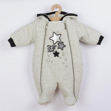 Zimná dojčenská kombinéza s kapucňou Koala Star Vibes