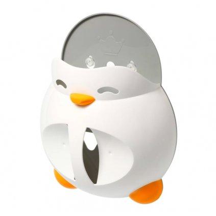 BABYONO Držiak na hračky do kúpeľa Penguin Martin