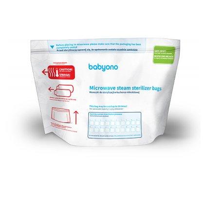 BABYONO Vrecká sterilizačné do mikrovlnky, 5ks