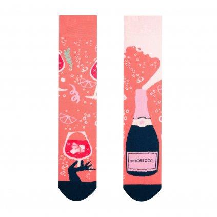 Veselé ponožky Prosecco