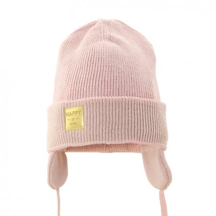 PUPILL Čiapka zimná Emma pink