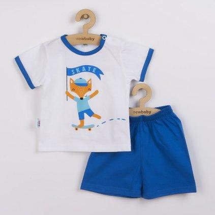 Dojčenská súprava tričko a kraťasky New Baby Líška