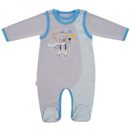 2-dielna bavlnená súprava New Baby Lucky Bear