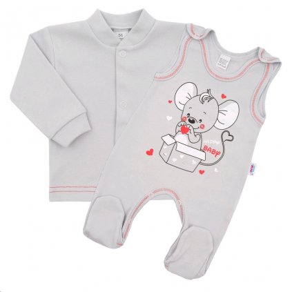 Dojčenská súpravička New Baby Mouse