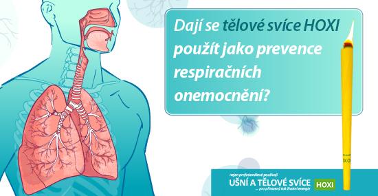 Dají se tělové svíce HOXI použít jako prevence respiračních onemocnění?