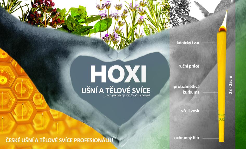 HOXI - české ušní a tělové svíce profesionálů
