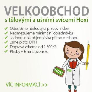 HOXI - ušní a tělové svíce - VELKOOBCHOD - nakupujte přímo u výrobce