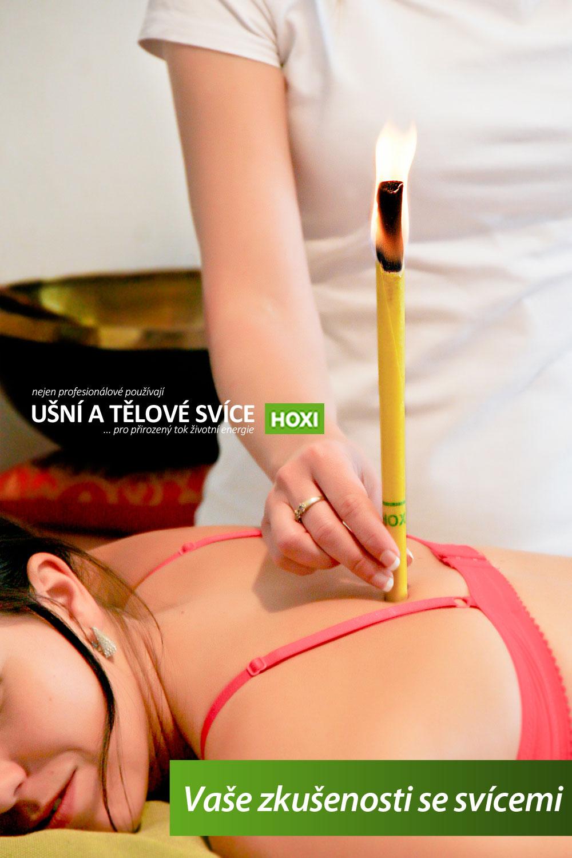 Ušní a tělové svíce HOXI - Vaše zkušenosti s použitím svící Hoxi