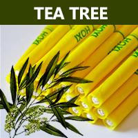 Ušní a tělové svíce HOXI s tea tree