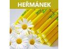 Ušní a tělové svíčky HOXI s Heřmánkem