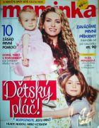 V dubnovém čísle časopisu pro ženy - Maminka se tentokrát zmínila redakce i o našich dětských ušních svících HOXI.