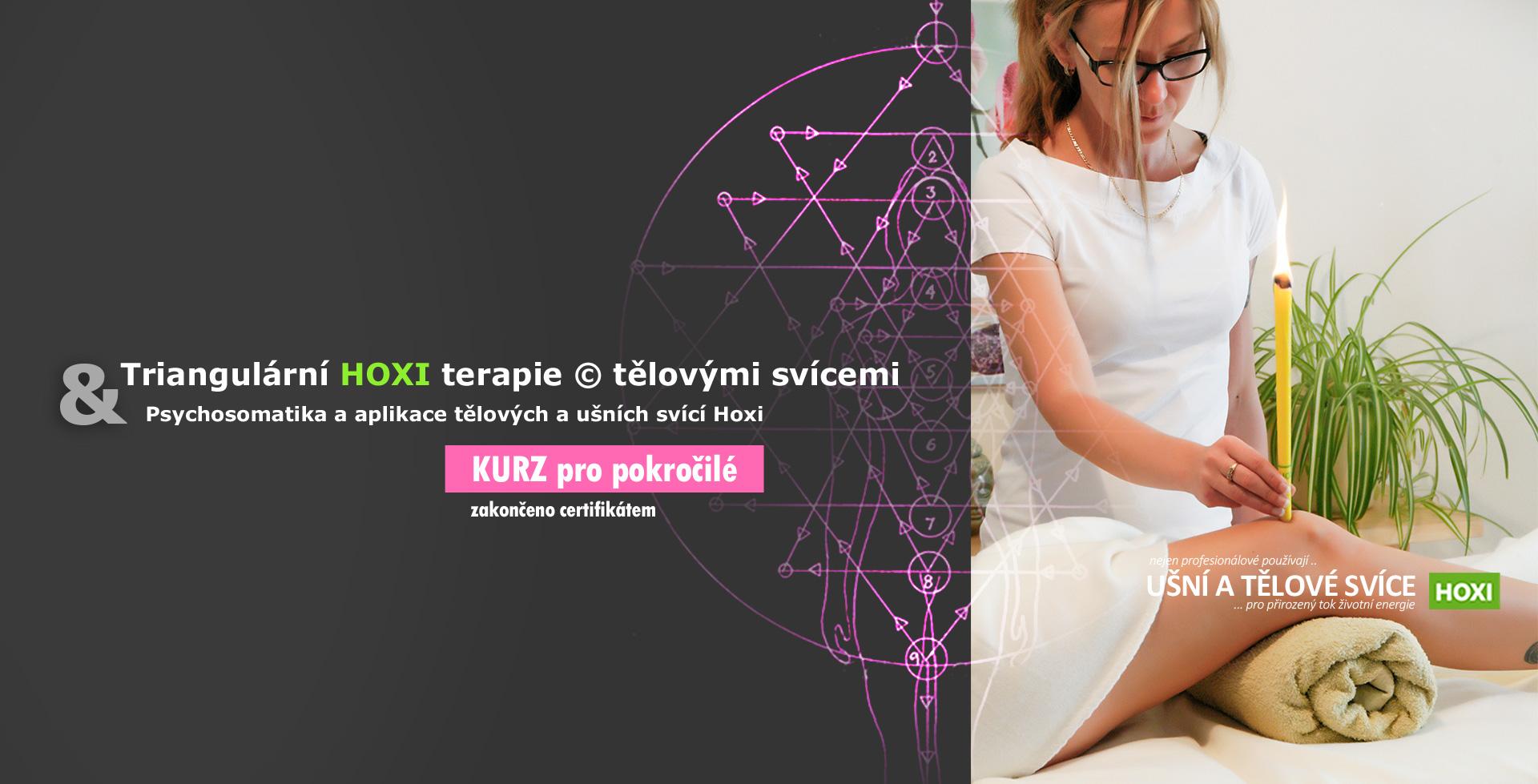 Triangulární HOXI terapie © tělovými svícemi