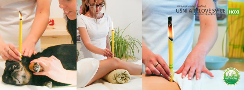 Tělové a ušní svíce HOXI a jejich užití v praxi - terapeutická část