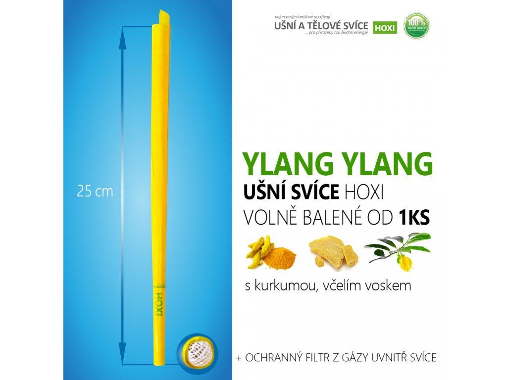 HOXI usni svice YLANG YLANG volně balené 01