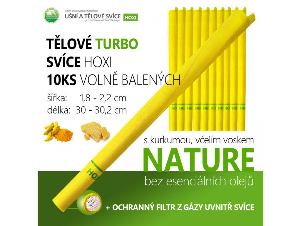 Tělová Turbo svíce HOXI 10ks 01
