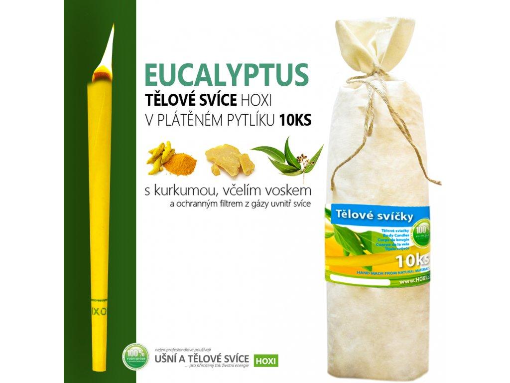 HOXI telove svice EUCALYPTUS v platenem pytliku 10ks 002