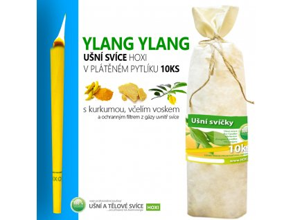 HOXI usni svice YLANG YLANG v platenem pytliku 10ks 002