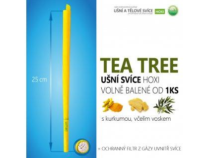 HOXI usni svice TEA TREE esenciální olejvolně balené 01