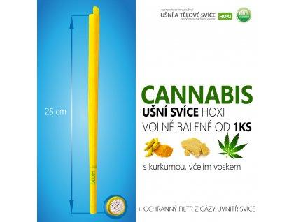 HOXI usni svice Cannabis konopí esenciální olejvolně balené 01