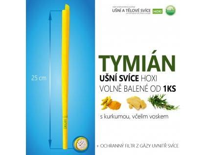 HOXI usni svice TYMIAN volně balené 01
