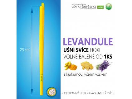 HOXI usni svice LEVANDULE volně balené 01