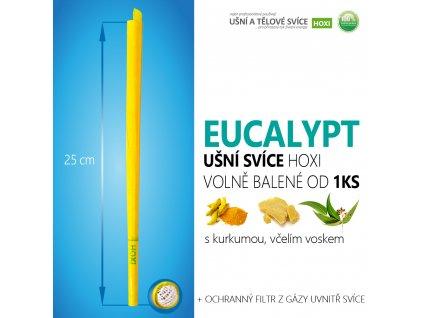 HOXI usni svice EUCALYPTUS volně balené 01