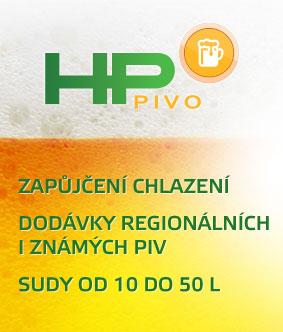 HP PIVO - zapůjčení chlazení, regionální piva