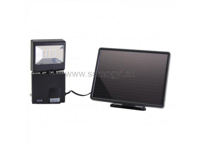 LED reflektor, solární, s pohybovým senzorem, 6W