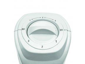Sloupový ventilátor, bílý, 80 cm, 45W
