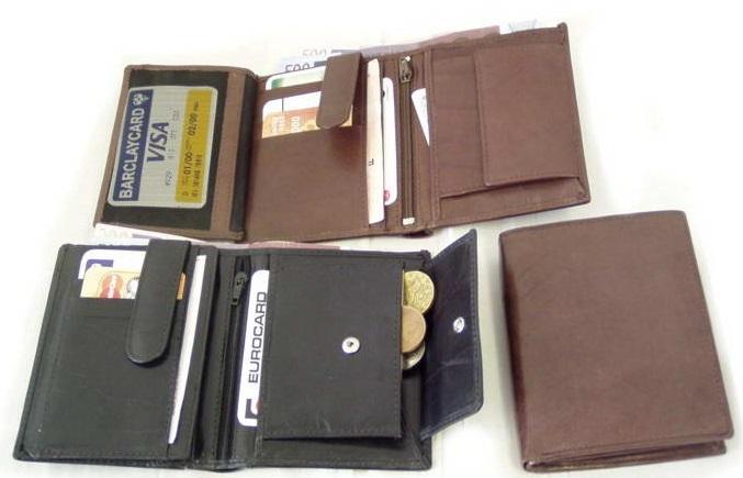 Peněženky, dokladovky, klíčenky, obaly na vizitky
