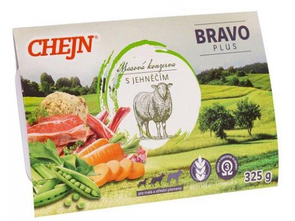 CHEJN Bravo plus Jehněčí 325 g